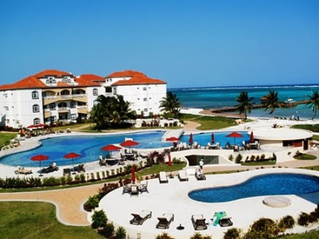 grand caribe belize swimming resort