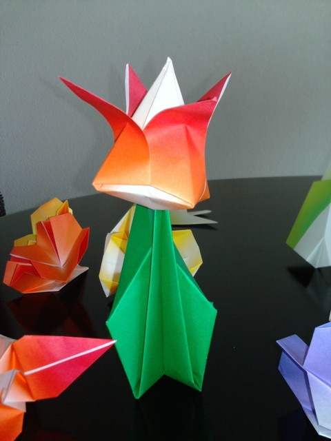 Amazing Guests At Grand Caribe Beautiful Origami Flowers
