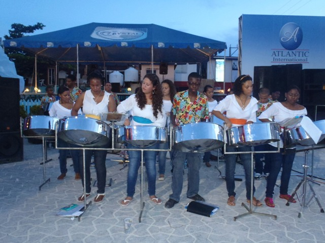 panerrifix pteel drum band from belmopan belize