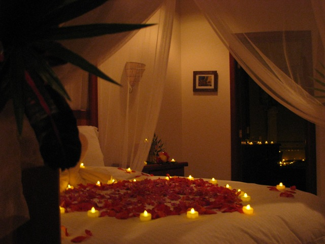 wedding night decorations bedroom