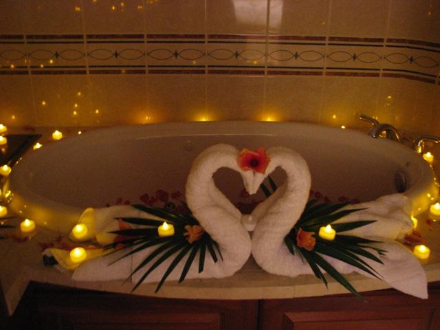 decorating honeymoon suite