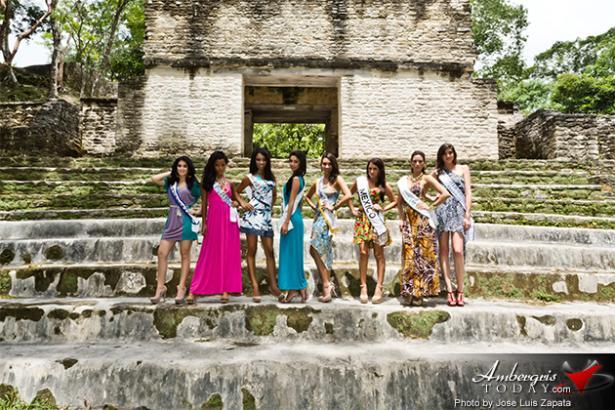Cahal Pech Maya Site In Cayo
