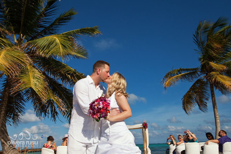 belize wedding at grand caribe resort