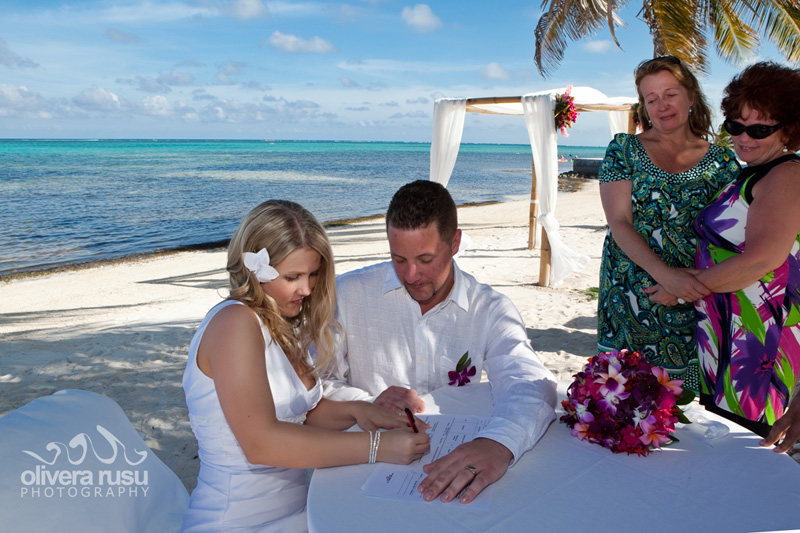 belie wedding packages from grand caribe resort