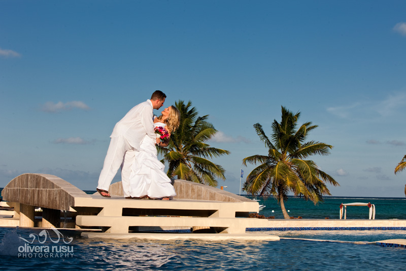 getting married on an island at grand caribe
