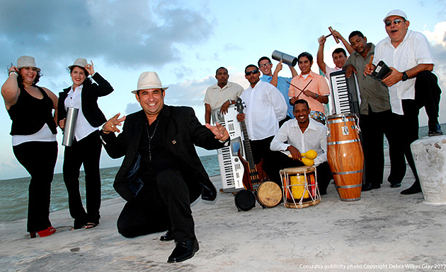 international costa maya festival performers