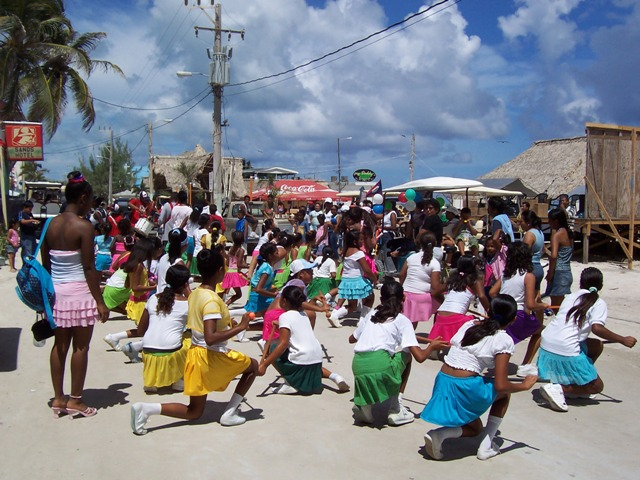 san pedro belize annual parade