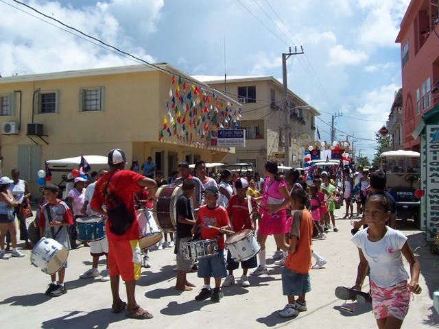 annual parade for september celebrations in belize
