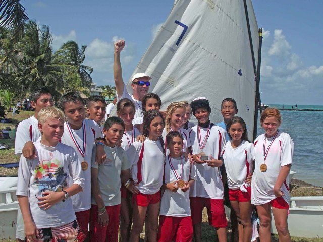 san pedro sailing club belize