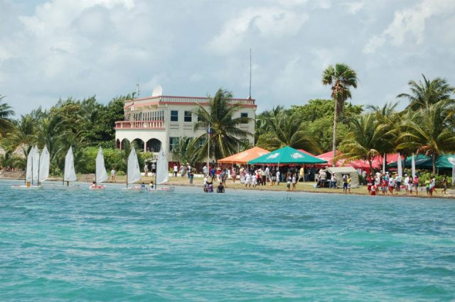 annual optimist regatta at st georges caye kicks of september celebrations in belize