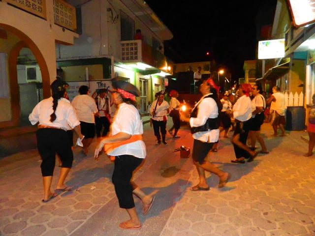 carnival comparsas downtown san pedro