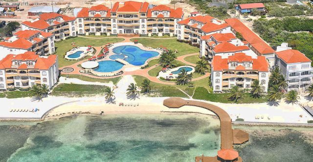 beachfront condos belize