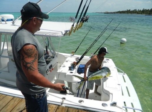 fishing belize