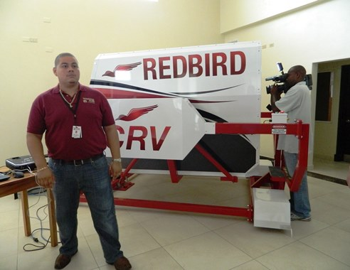 redbird flight imulator