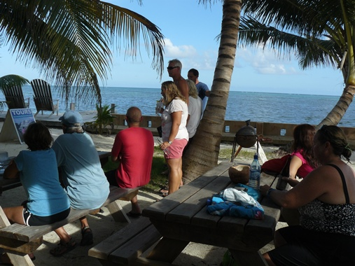 coco locos beach bar belize