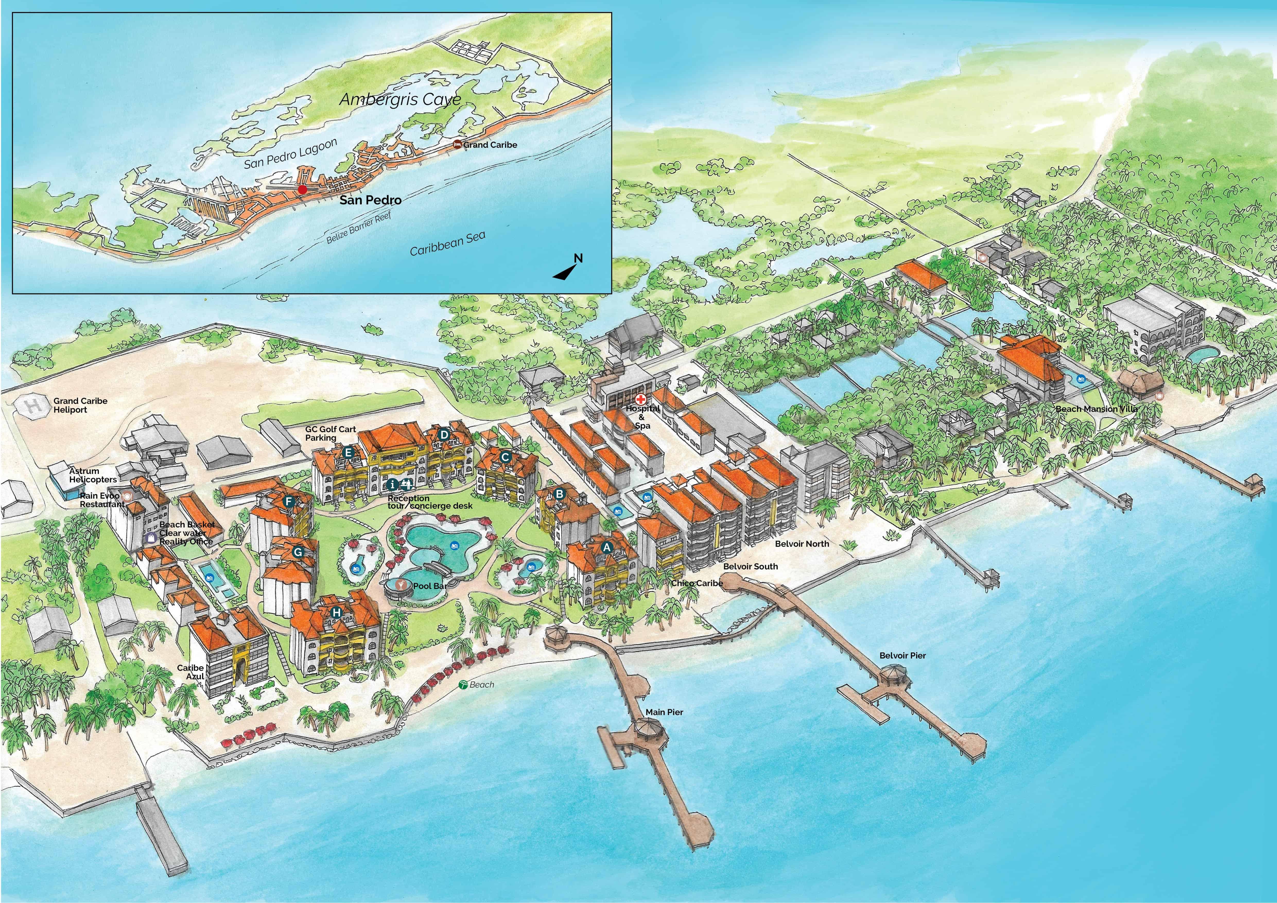 Resort in San Pedro Belize