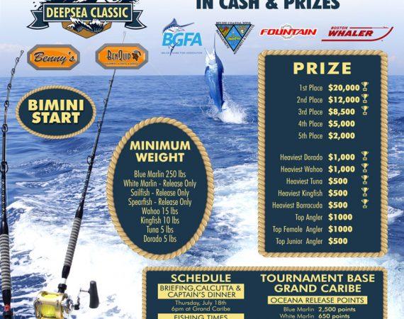 Grand Caribe Belize host 1st ever International Deepsea Classic Fishing Tournament