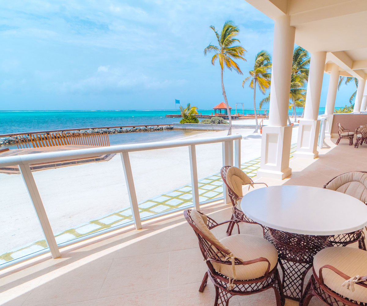 Ambergris Caye Belize 1 Bedroom Beach Walkout Condos View