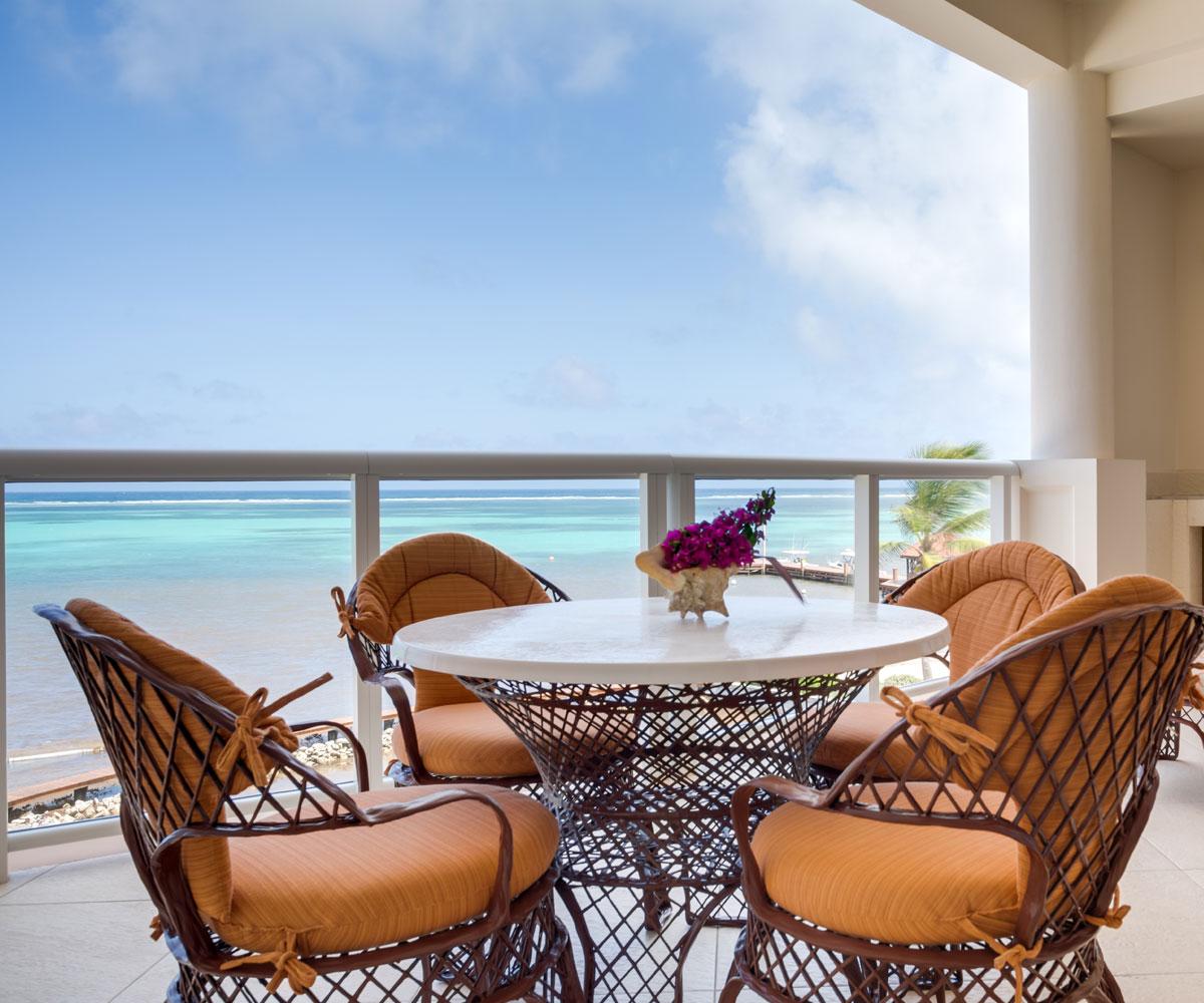 Ambergris Caye Belize 1 Bedroom Ocean View Deluxe Condos View