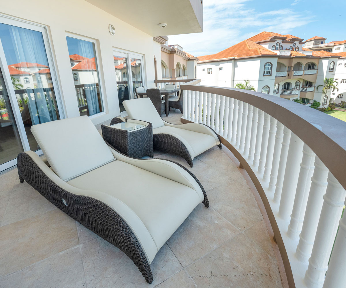 Ambergris Caye Belize 2 Bedroom Oceanfront Penthouse View