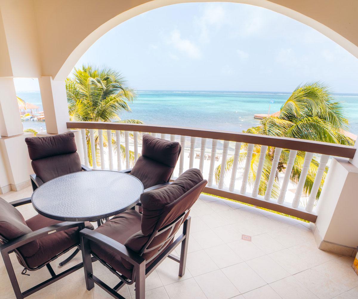 Ambergris Caye Belize 1 Bedroom Oceanfront Condos View
