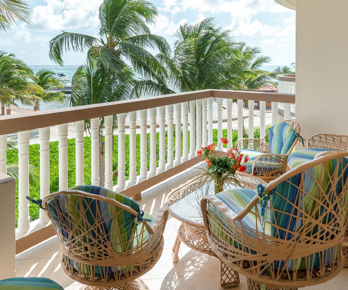 Ambergris Caye Belize 2 Bedroom Oceanfront Condos Views