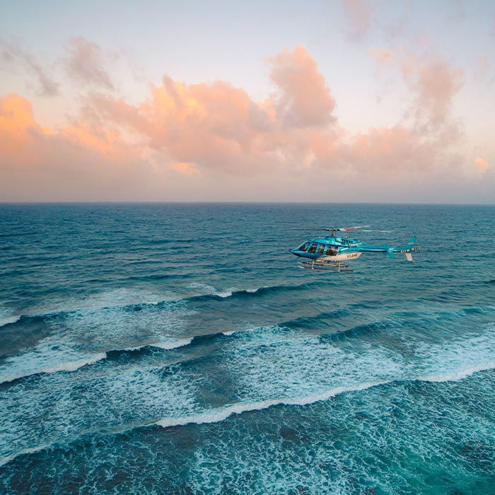 Belize Adventure Tours - Helicopter