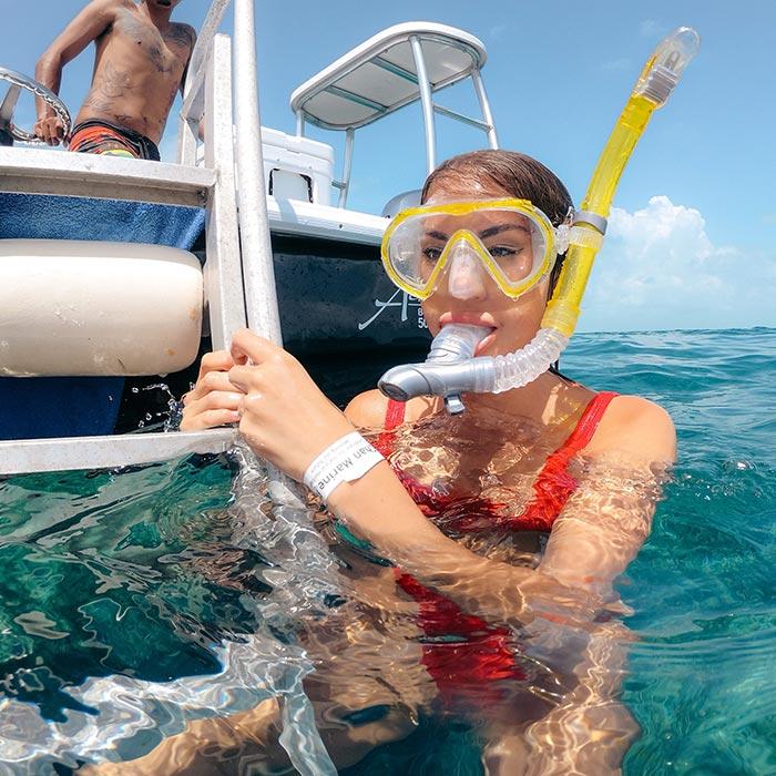 Belize Adventure Tours - Snorkeling