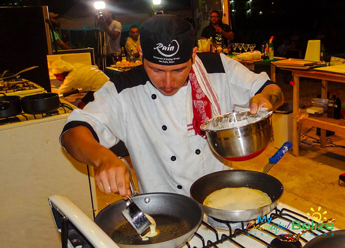 Taste of Belize 2016 Chef Samuel Gonzales