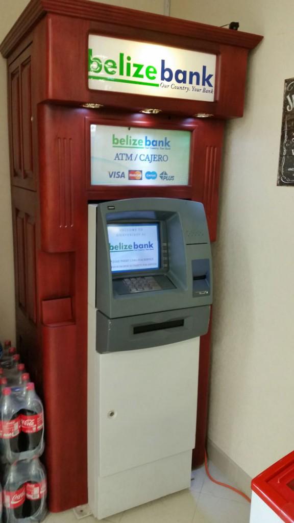 Belize Bank ATM