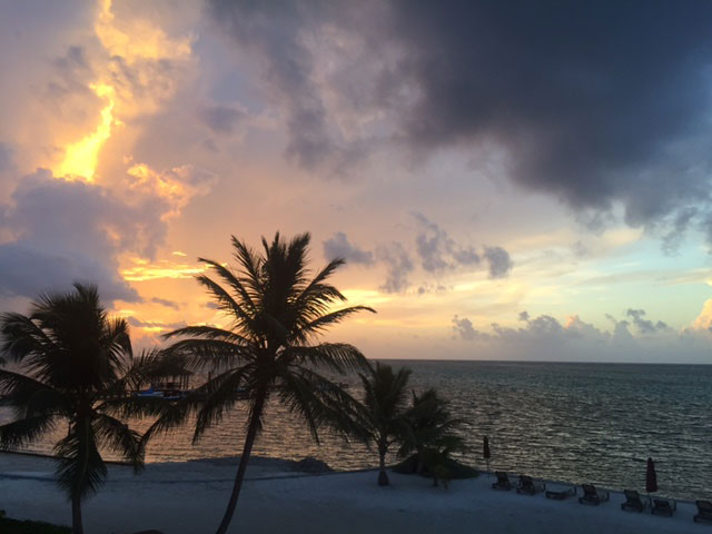 Exquisite view in Ambergris Caye
