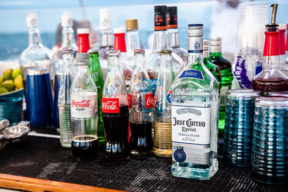 Alcohol on board YOLO