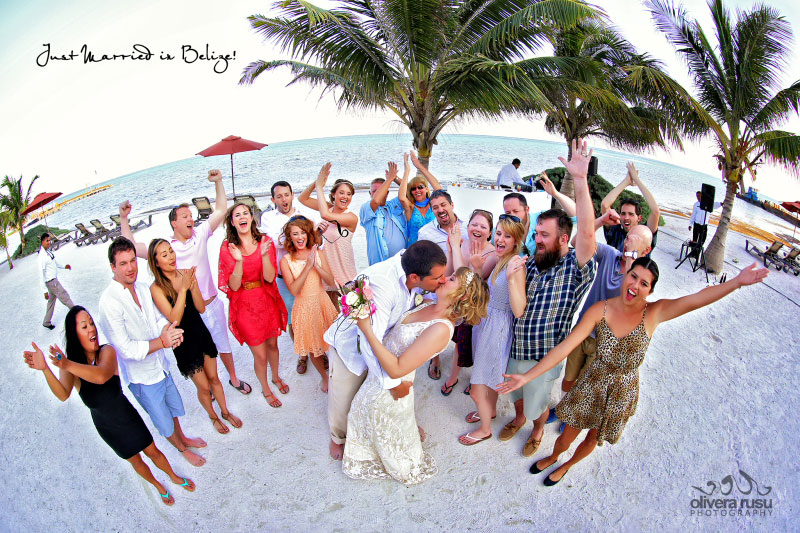 Belize Beach Wedding at Grand Caribe Belize