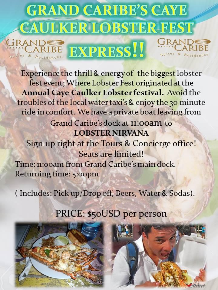 Caye Cauker Lobster Fest 2015