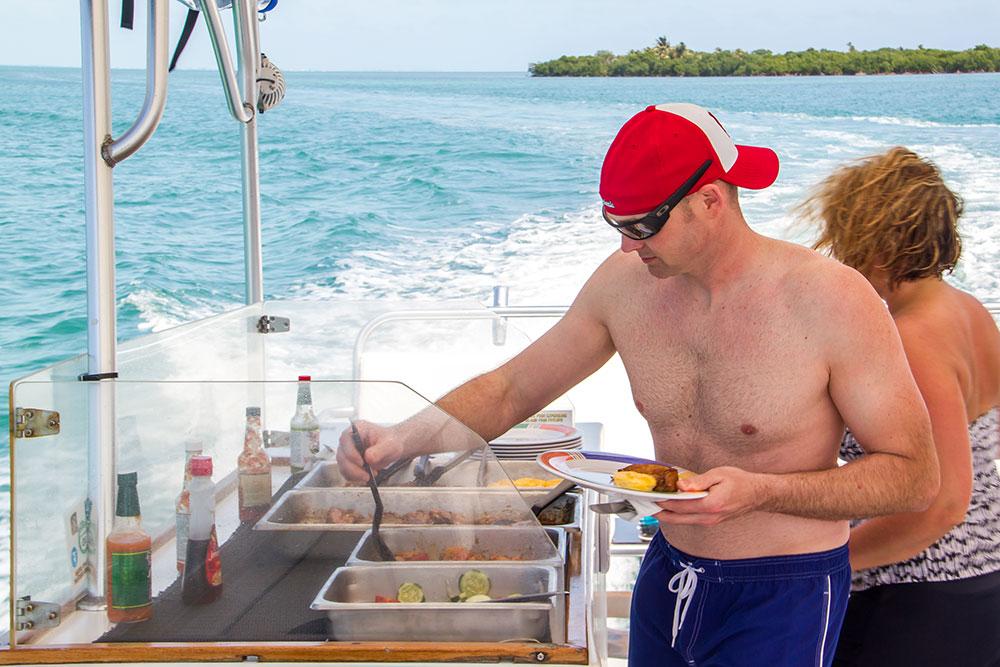 Food on board YOLO