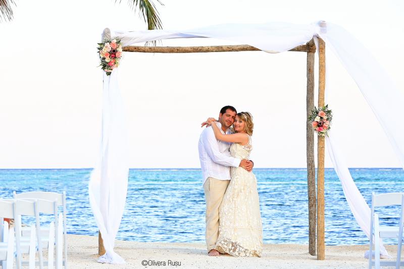 belize beach wedding