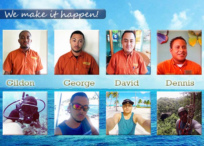 Grand Caribe Staff