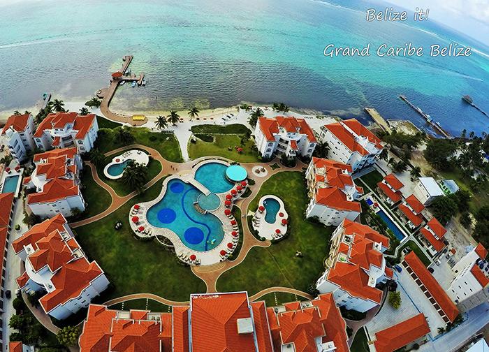 Grand Caribe panorama views