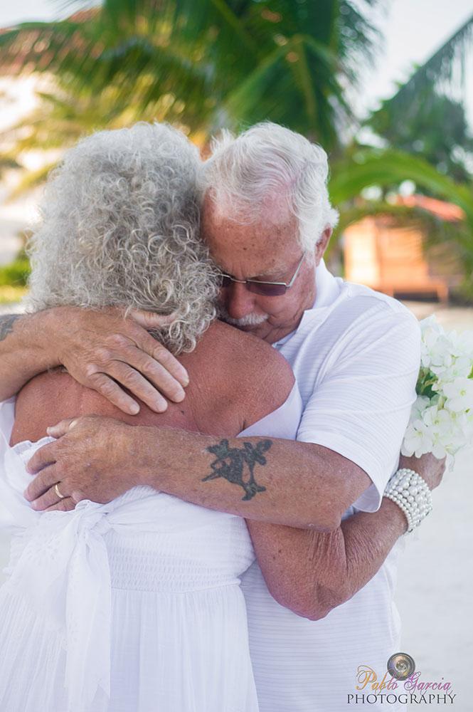 Wedding Vow Renewal at Grand Caribe