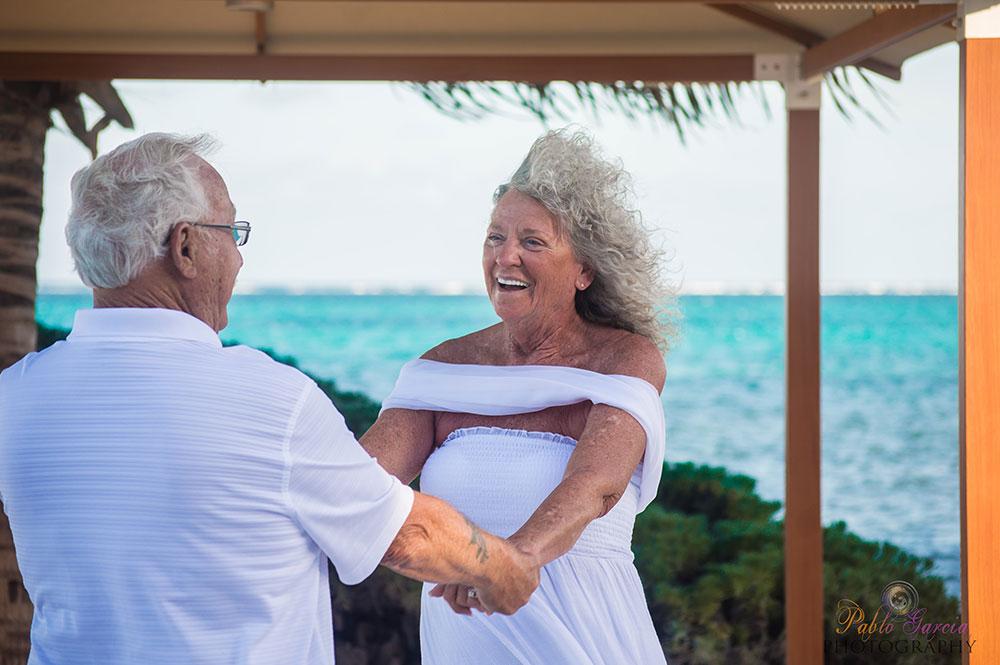 Grand Caribe Wedding Vow Renewal