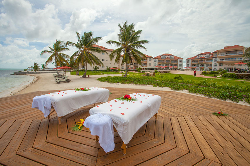 Spa services at Grand Caribe