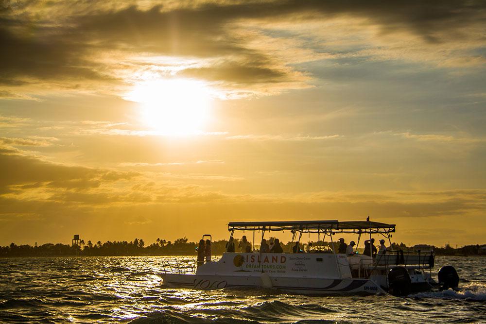 Sunset Cruise on YOLO