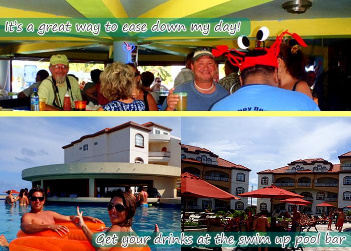Grand Caribe Swim up pool