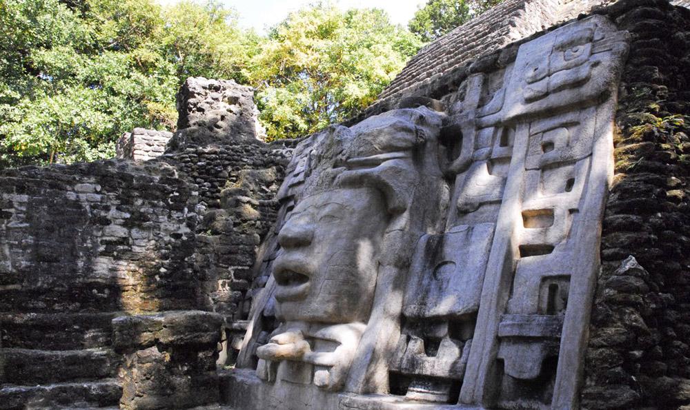 Lamanai Maya Ruin-Belize
