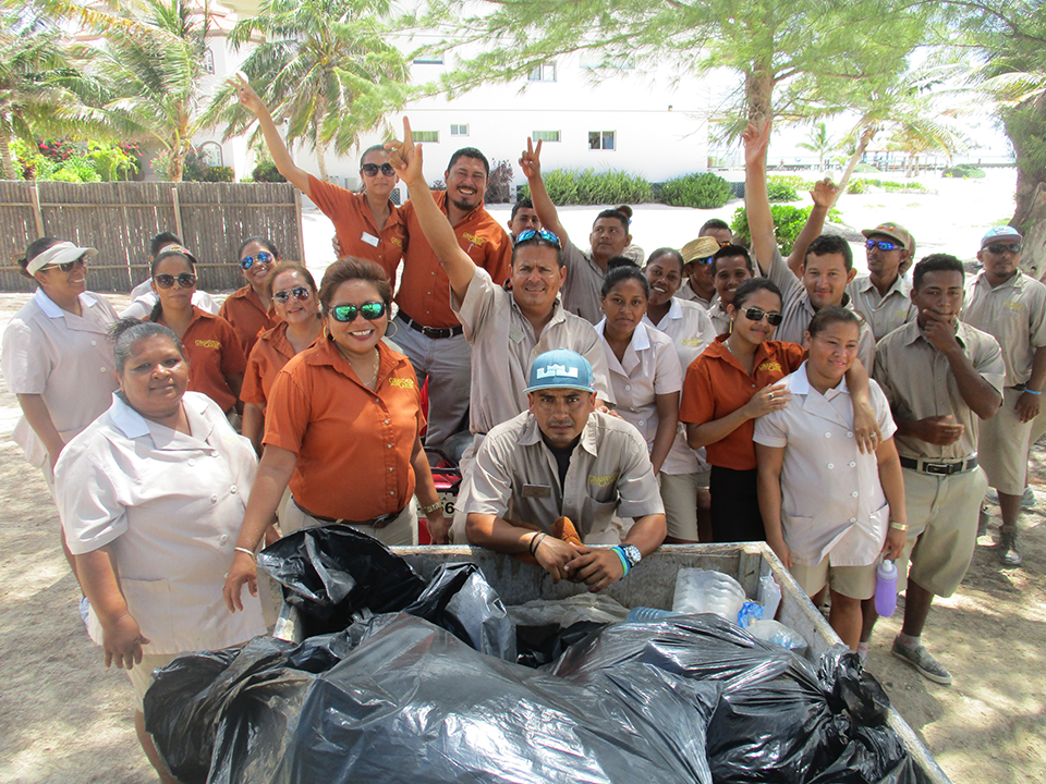 Beach Clean Up Crew Grand Caribe