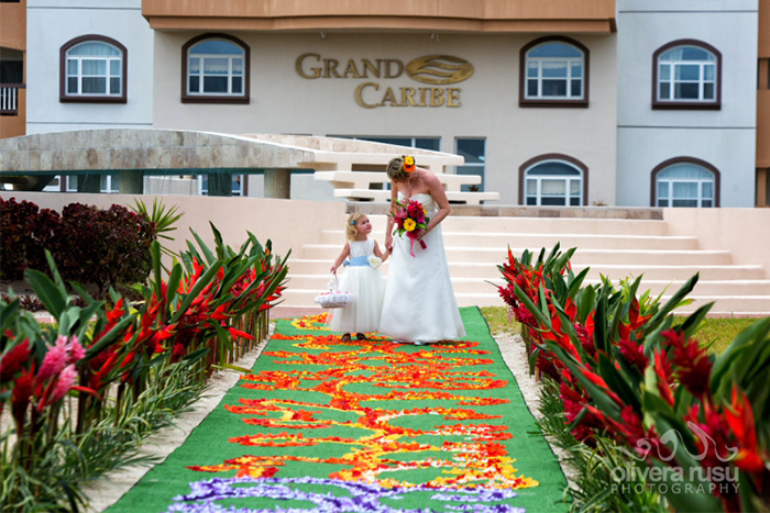 Belize beach wedding destination