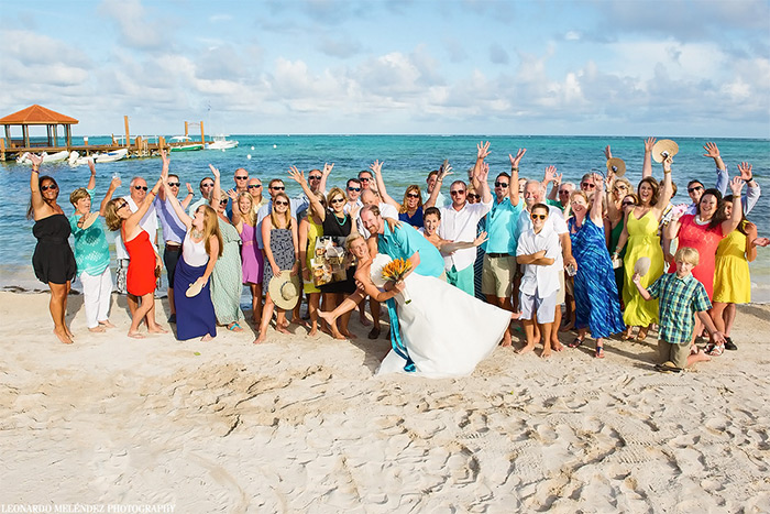 belize family wedding