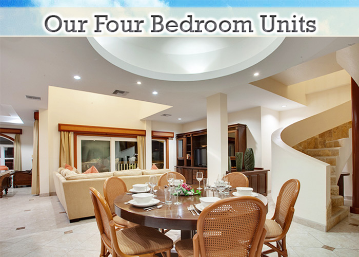 Grand Caribe 4 bedroom